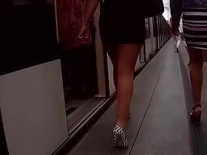 public legs and asses