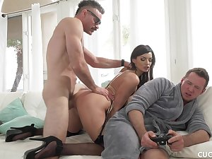 Becky Bandini - Needs A Real Man To Pound Her Pussy