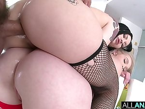 ALL ANAL Anal exploring with Kay Carter and Neveah Snow